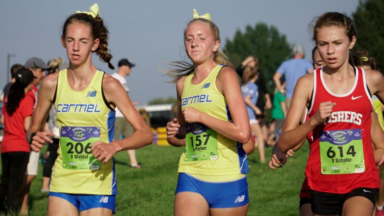 Parker Center Helped The Greyhounds To A Runner Up Finish In Girls Championship Race At Flashrock Invitational Saay Northview Church
