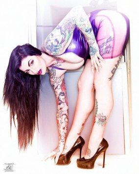 Model - India Rose w/ Photographer Brit Woolard in Chicago IL