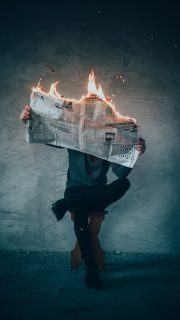 Different, outside the box burning news