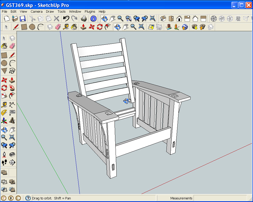 From 2D AutoCAD to 3D SketchUp-It Doesn't Have to