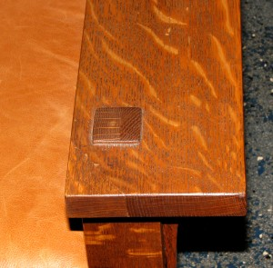 Stickley 332 Morris Chair Arm Tenon