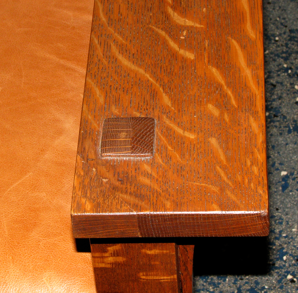 Charmant Stickley 332 Morris Chair Arm Tenon