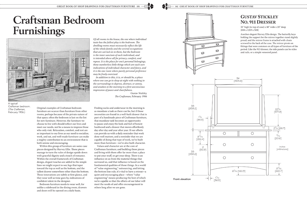 New Shop Drawings For Craftsman Furniture Preview Readwatchdo Com