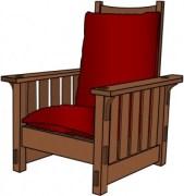 Stickley 332 Morris Chair