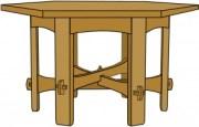 Stickley 624 Hexagonal Table