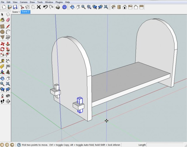 For 3D Modeling maintain a 3D point of view