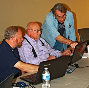 One on one instruction in Bob Lang's SketchUp Class