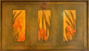 Byrdcliffe Iris Panel