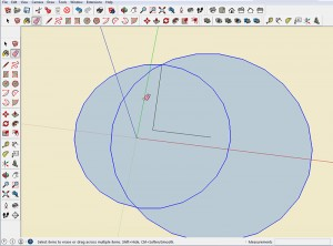 Pythagorean Theorem in SketchUp Step 4