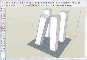 Simple Angle Intersections in SketchUp