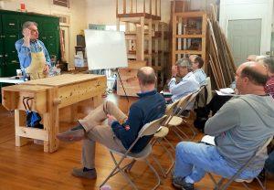 Bob Lang at Alabama Woodworkers Guild