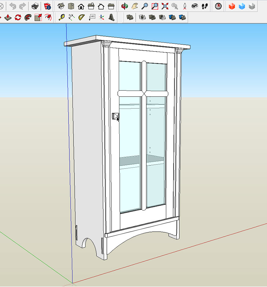 In a good SketchUp model anything that is a distinct piece of wood in real life is a component. (Click here to read about why components are so important).  sc 1 st  ReadWatchDo.com & Move Parts From One SketchUp Model to AnotherReadWatchDo.com