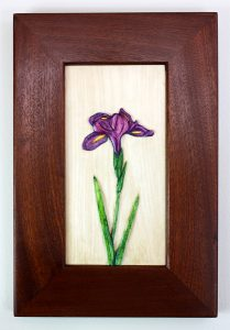 Iris Carving by Robert Lang