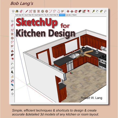 new book sketchup for kitchen