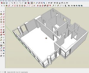 SketchUp model by Bob Lang