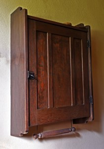 Original Gamble House Garage Medicine Cabinet