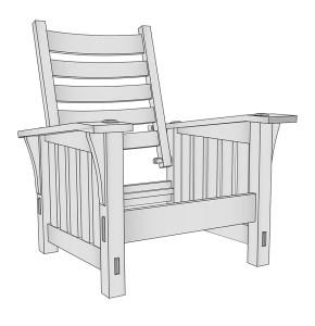 Stickley 369 Morris Chair