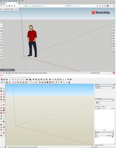 SketchUp Free vs. SketchUp Make