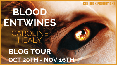 Blog Tour: Blood Entwines by Caroline Healy INTERVIEW + GIVEAWAY!!!
