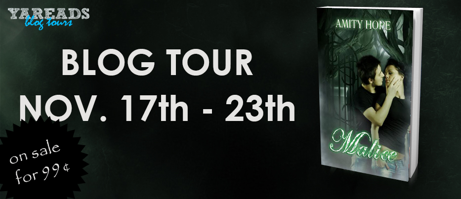 Blog Tour: Malice by Amity Hope! Interview + GIVEAWAY!!!