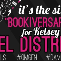 Damsel Distressed by Kelsey Macke Six Month Bookiversary Bash!!!