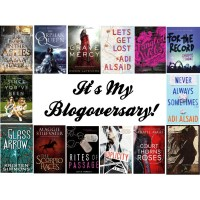 IT'S MY BLOGOVERSARY!!!