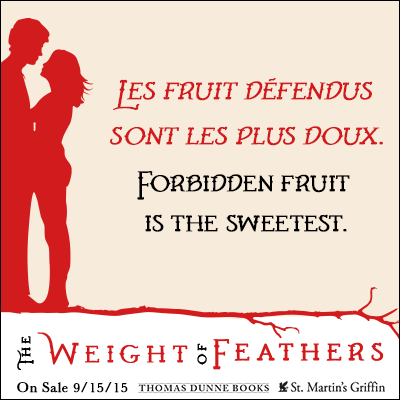 Excerpt: The Weight of Feathers by Anna-Marie McLemore+ GIVEAWAY!!!