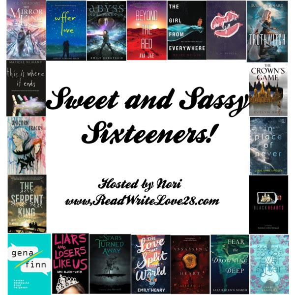 Sweet and Sassy Sixteeners: Day Ten- Shannon Parker!