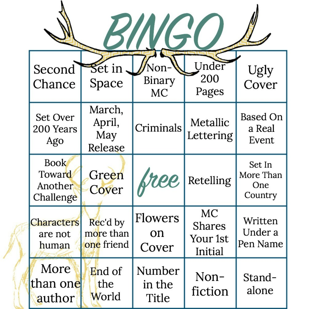 Bookish Bingo Spring 2016 Challenge!