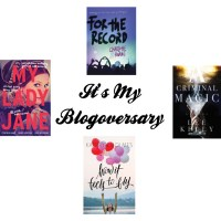 It's My Blogoversary!!! Come Celebrate w/ Me- There's a Giveaway!