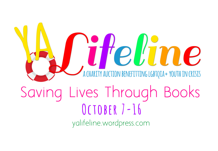 Guest Post About YA Lifeline- a Charity Auction Benefiting The Trevor Project