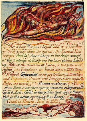 William Blake illuminated manuscript