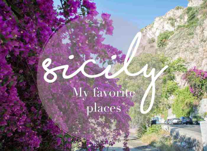 Best places in Sicily: Find out my personal favourite places in Sicily and Aeolian islands!