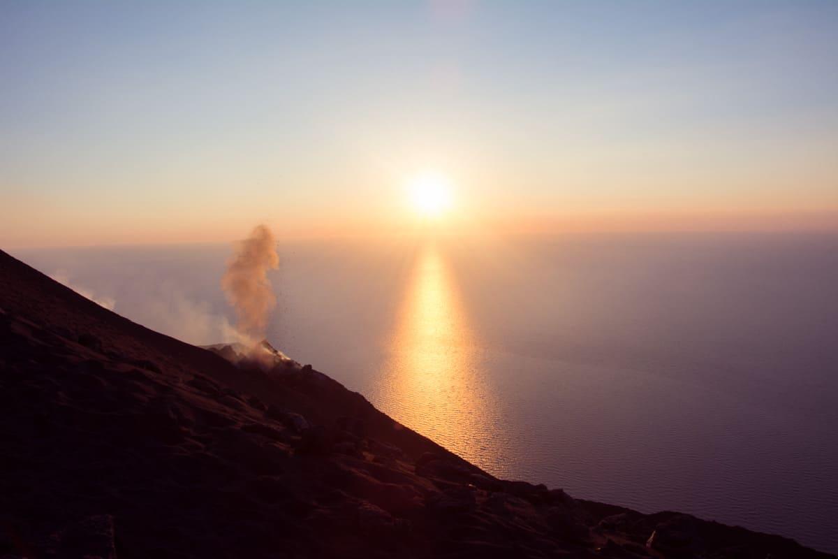 Stromboli sunset tour - what a breathtaking volcano