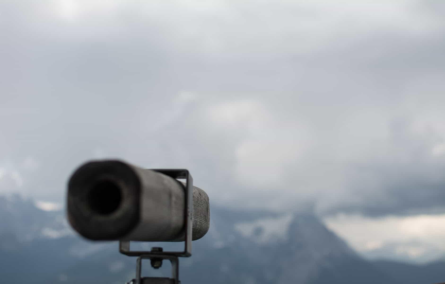 Ausblick auf Zugspitze Wank