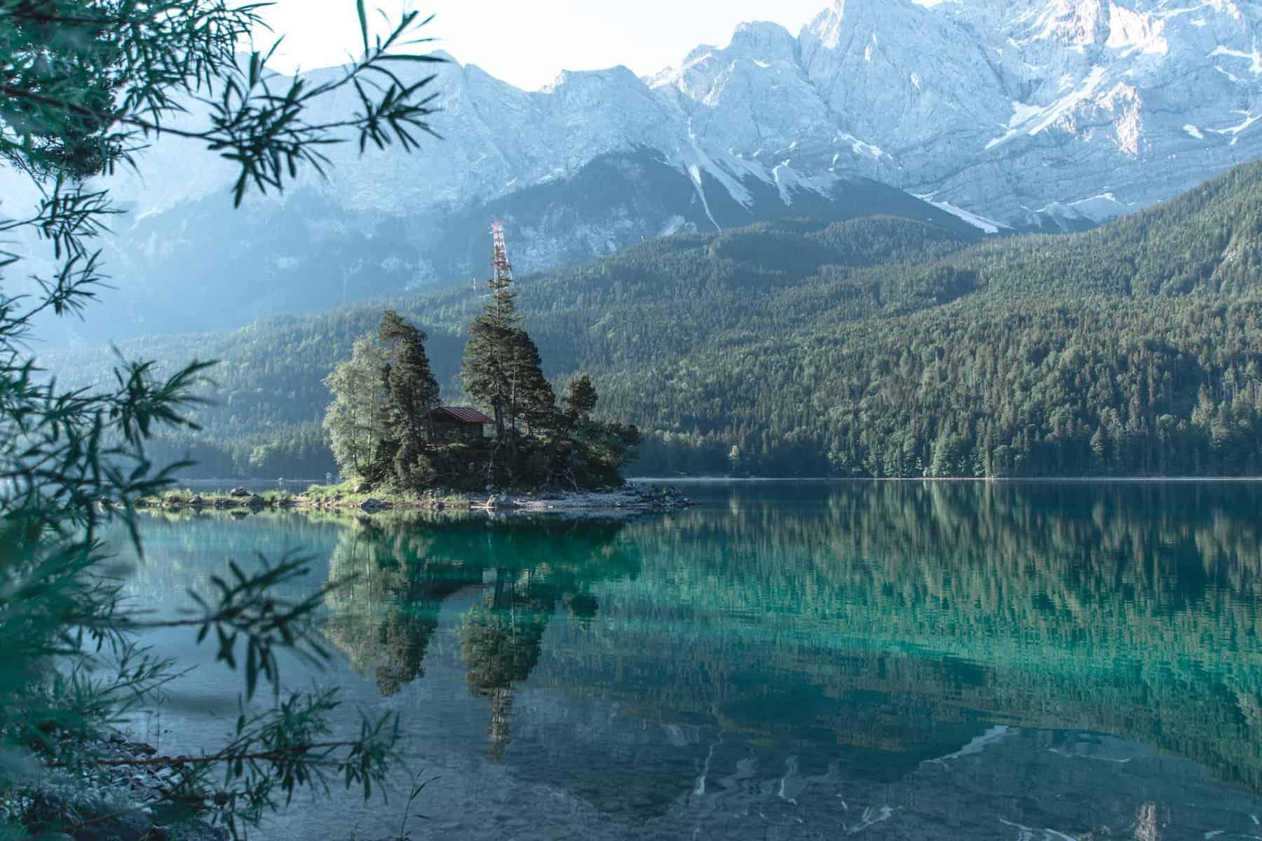 Best hikes in Bavaria - Eibsee