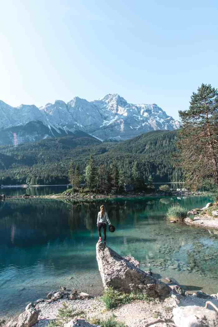 Best hikes in Bavaria, Germany - Lake Eibsee
