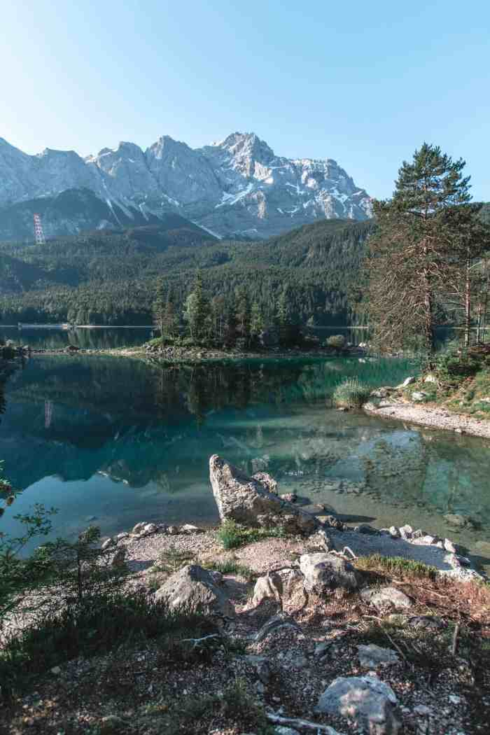 Best hikes in Bavaria, Germany - Lake Eibsee