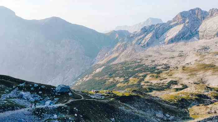 Beste Wanderungen in Bayern - Wanderung auf die Zugspitze