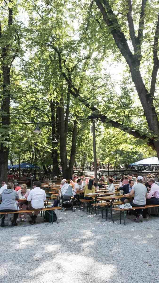 Best beer gardens in Munich: Augustiner beer garden