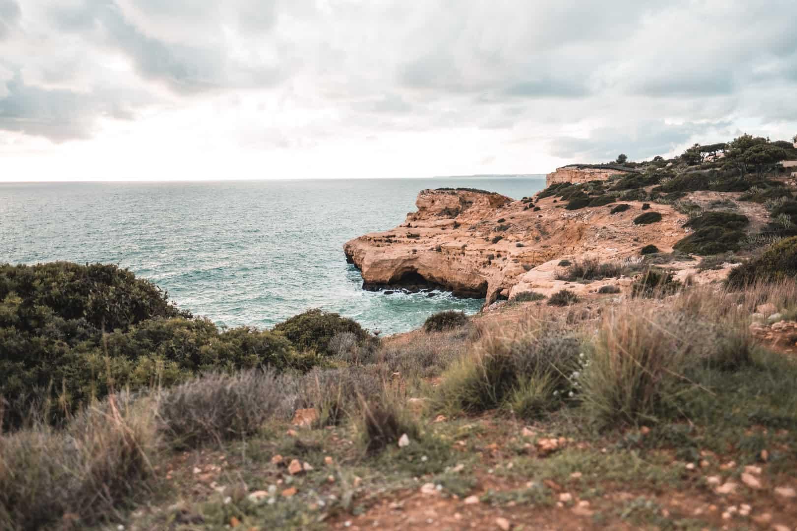 Walking trail from Carvoeiro to Benagil