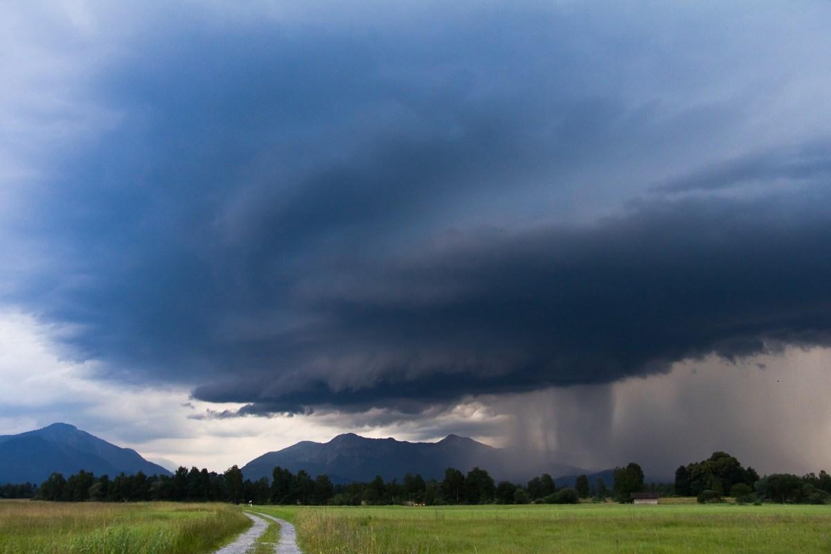 Burza w górach - poradnik - WAŻNE !