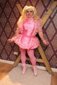 Kimberly Satin Sissy Dressy