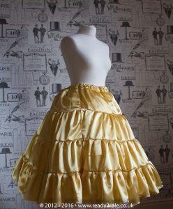 Sissy Frilly Hand Crafted Petticoat – Longer Length 4