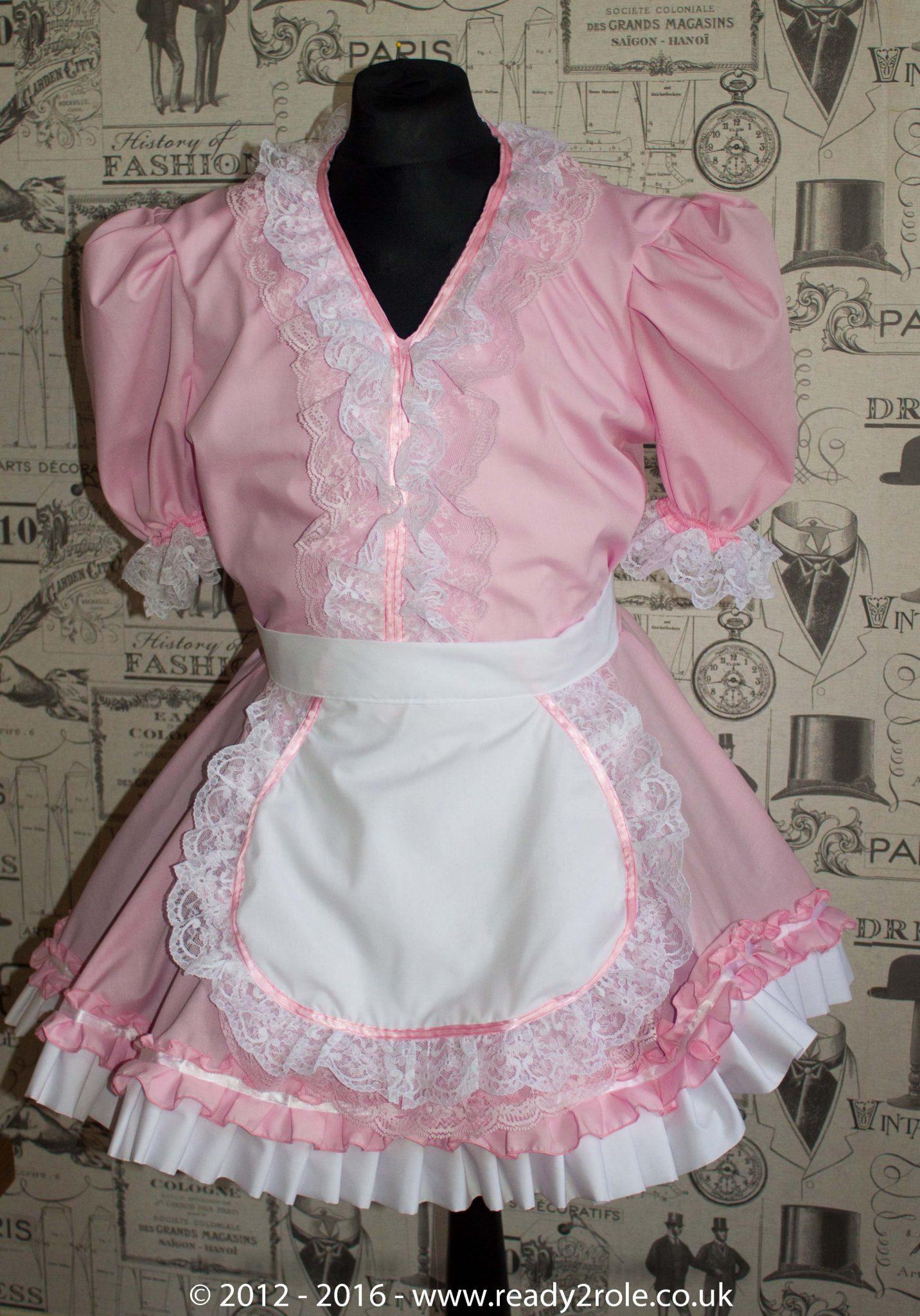 Verity Sissy Maids Dress (Pink Version)