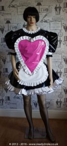 "The ""Sweetheart"" Sissy Dress With Interchangeable Apron Sections 3"