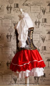 Red Riding Hood SteamPunk Costume 4