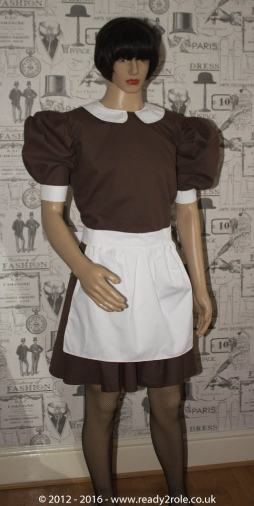 Alice Cotton Maids Dress With Half Apron 2