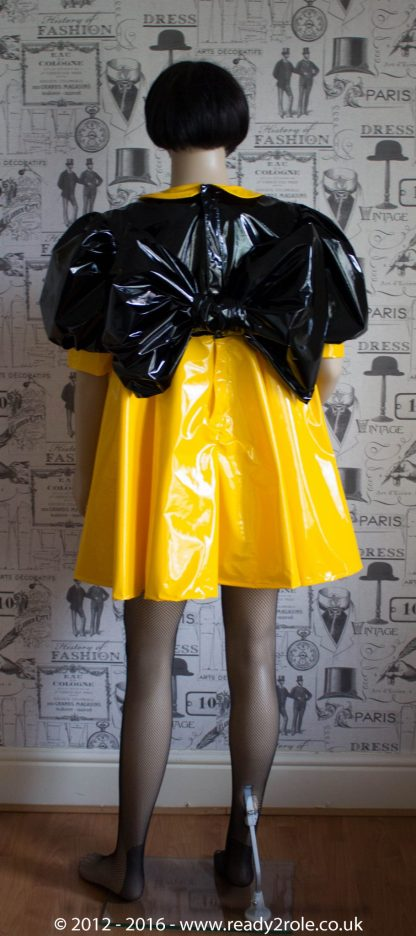 """The """"Bow Kay"""" Sissy Dress in PVC – Ask About Colour Options 5"""