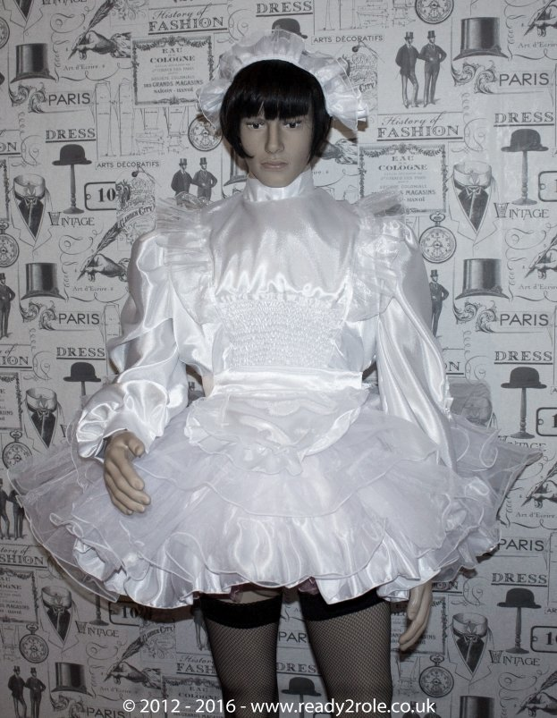 Bridie – Sissy Satin & Organza Dress – Ask About Other Colour Choices